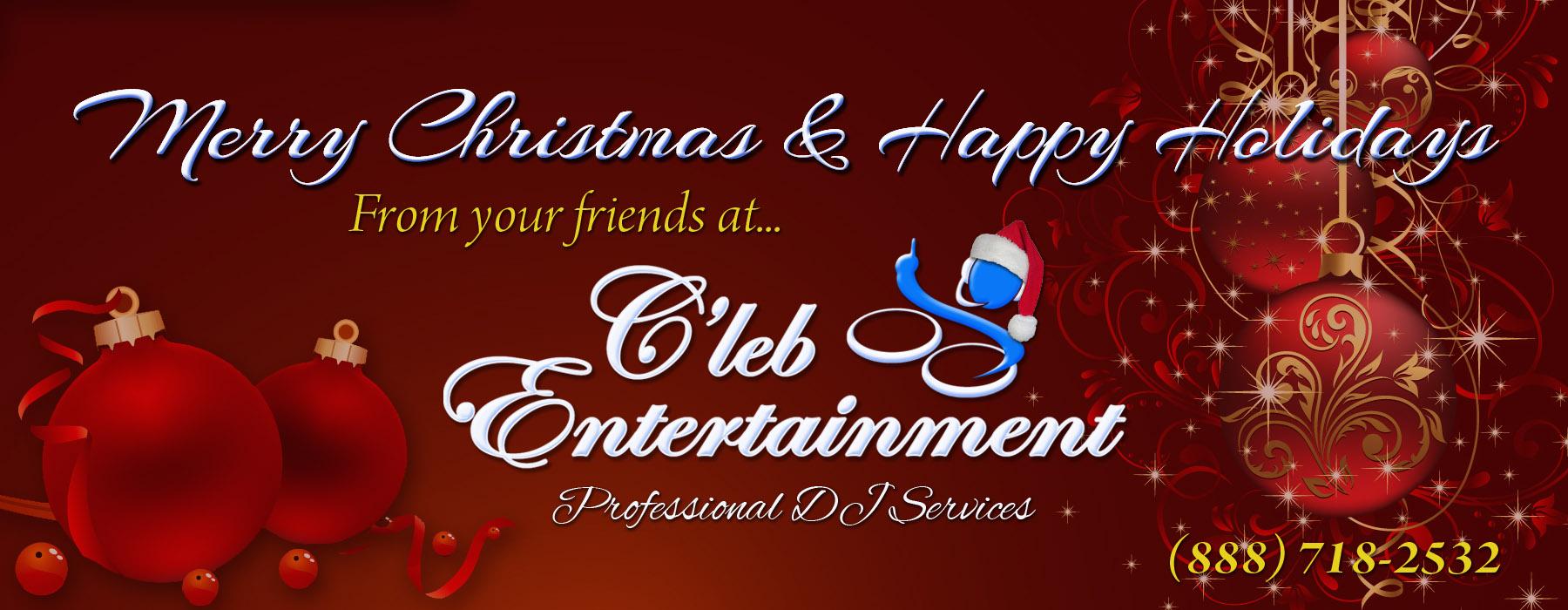 Cleb Entertainment Seasons Greetings To All